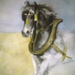 cheval ((50x70)