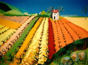 gouache4 vignes (60x50)